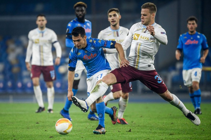 Napoli Singkirkan HNK Rijeka dari Liga Europa