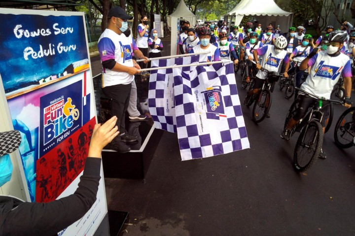 Ultah ke-3, Medcom.id Gelar Virtual Fun Bike for Edu