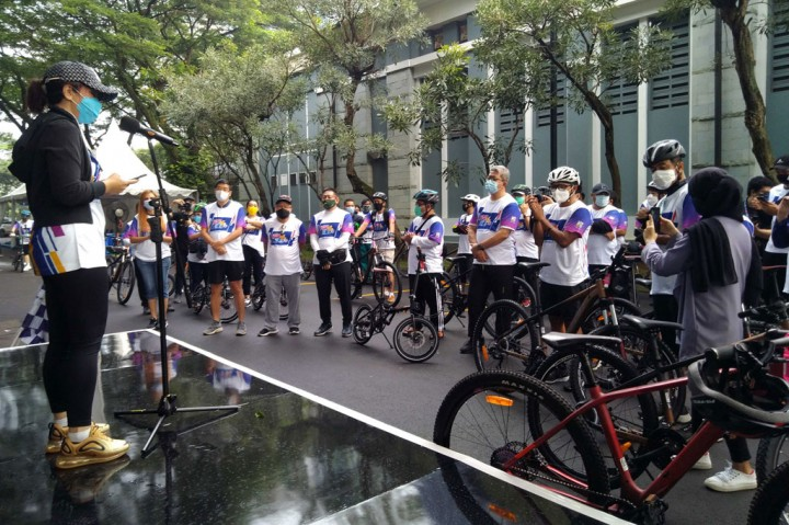 Ultah ke-3, Medcom.id Gelar Virtual Fun Bike for Edu