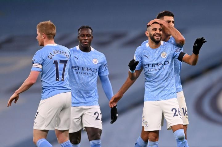 Liga Inggris: Mahrez Hattrick, Man City Gilas Burnley 5-0