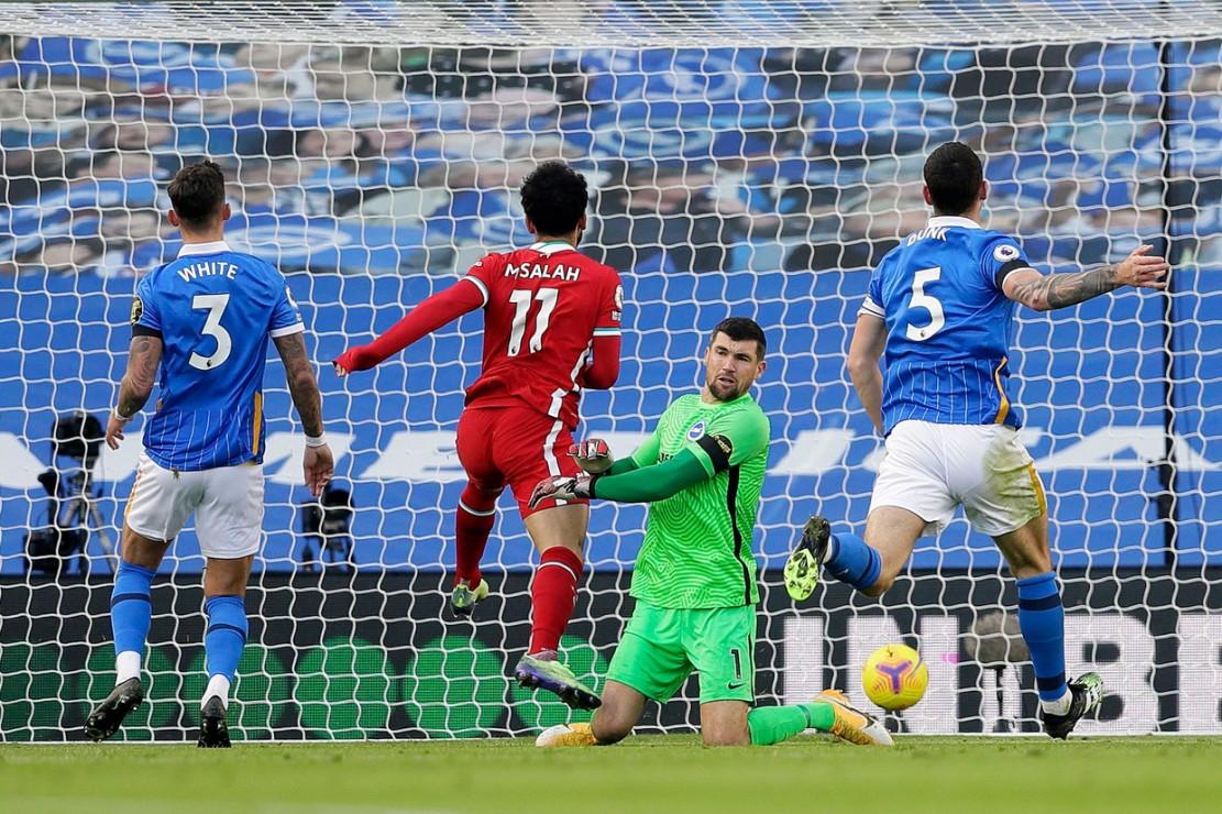 Liga Inggris Brighton Imbangi Liverpool 1 1 The Reds Ke Puncak Medcom Id