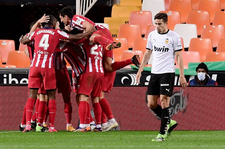 Atletico Madrid Tumbangkan Valencia 1-0 di Mestalla
