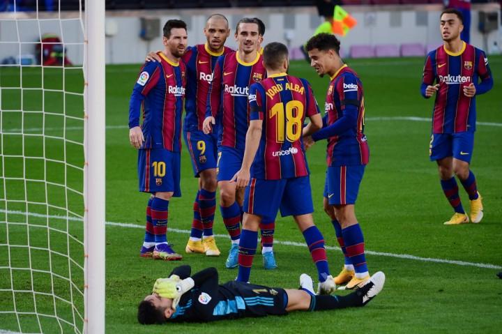 Liga Spanyol: Barcelona Bungkam Osasuna 4-0