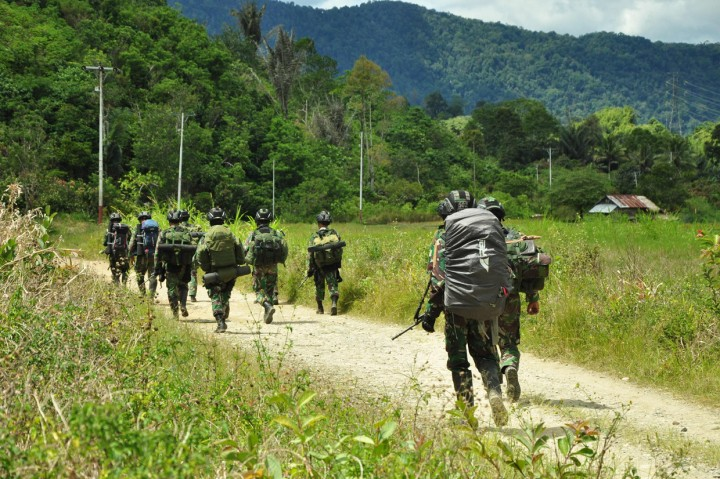 Buru Kelompok MIT Poso, Pasukan Khusus TNI Tiba di Palu