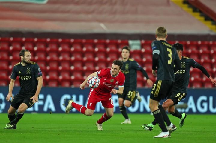 Gol Curtis Jones Pastikan Liverpool ke 16 Besar Liga Champions