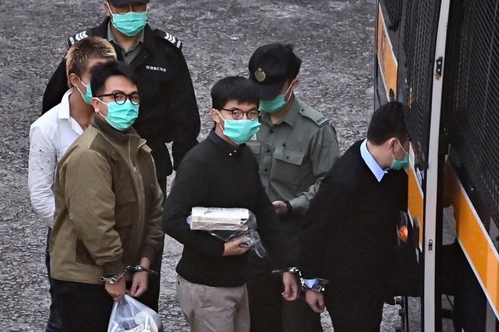 Aktivis Hong Kong Joshua Wong Dipenjara