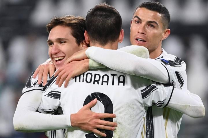 Juventus vs Dynamo Kiev: La Vecchia Signora Menang Telak 3-0