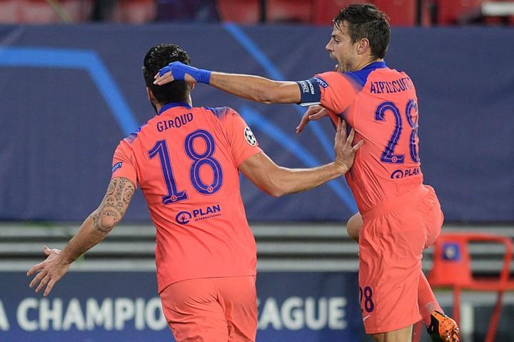Olivier Giroud Cetak Quat-trick Saat Chelsea Cukur Sevilla 4-0
