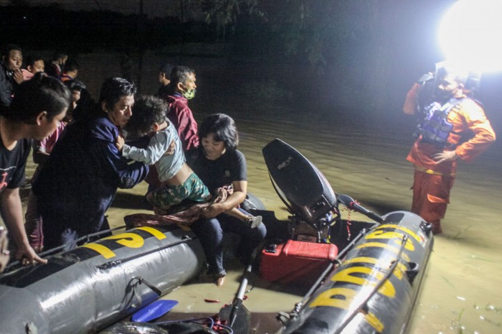 Banjir Bandang Terjang Kawasan Tanjung Selamat Deliserdang