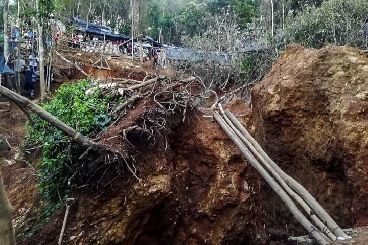 10 Orang Terjebak akibat Runtuhnya Tambang di Nikaragua
