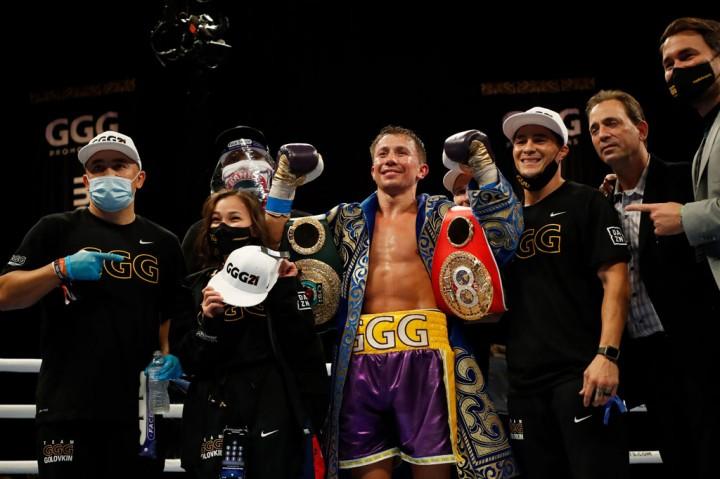 Golovkin Pertahankan Gelar Juara Tinju Kelas Menengah IBO dan WBC
