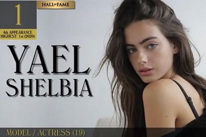 Potret Yael Shelbia yang Dinobatkan Jadi Wanita Tercantik Dunia
