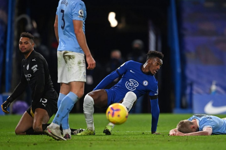 Liga Inggris: Manchester City Pecundangi Chelsea di Stamford