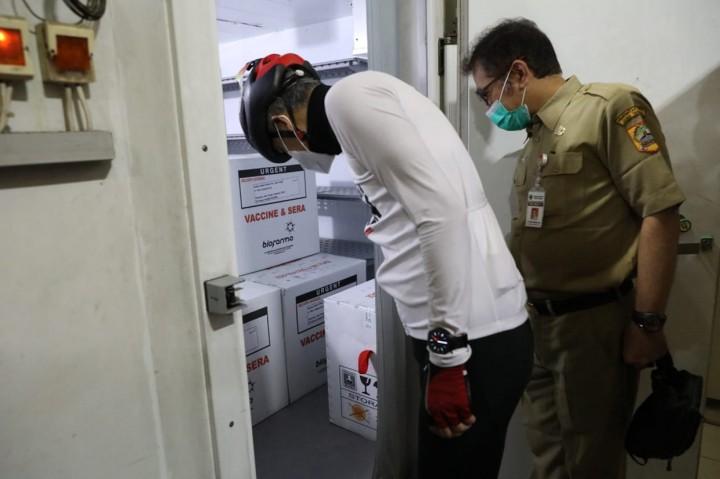 62.560 Dosis Vaksin Covid-19 Tiba di Jateng, Ganjar: Vaksinasi