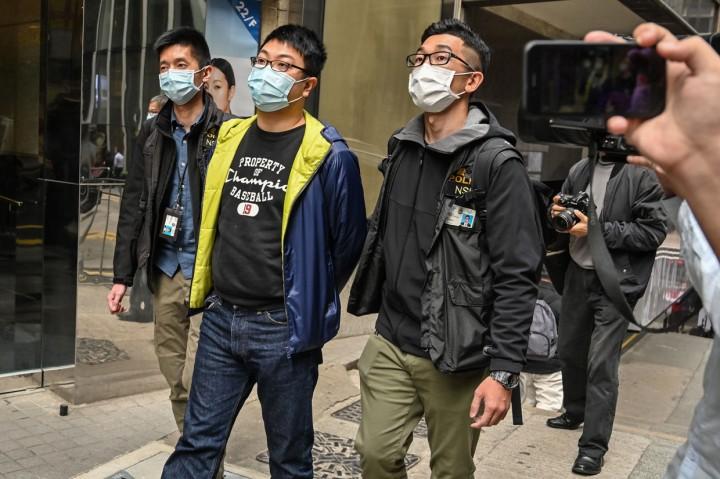 50 Aktivis Pro-Demokrasi Hong Kong Ditangkap