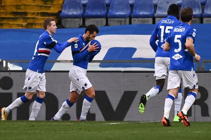 Sampdoria Vs Inter Milan: Tumbang 1-2, Nerazzurri Gagal Geser Ac