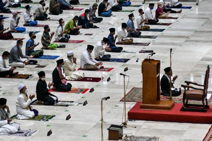 Masjid Istiqlal Gelar Salat Jumat secara Terbatas