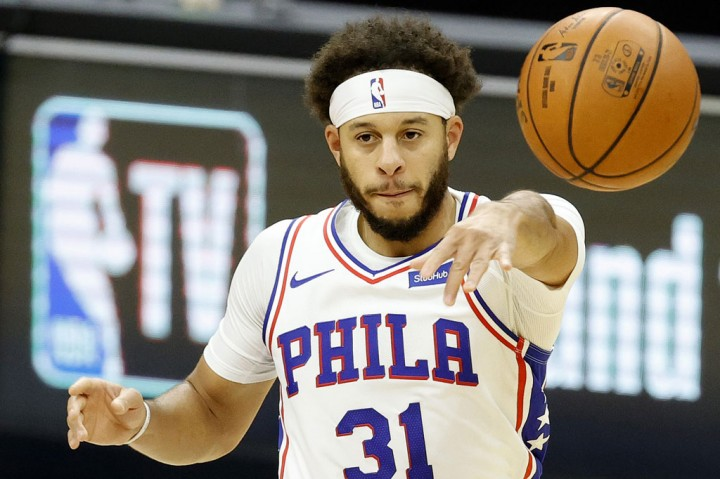 Guard Philadelphia 76ers Seth Curry Positif Covid-19