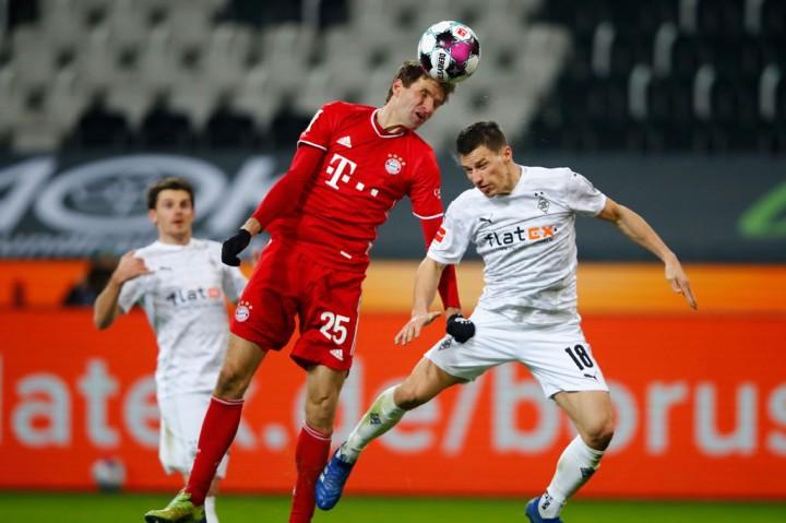 Liga Jerman: Buang Keunggulan Dua Gol, Bayern Tersungkur di