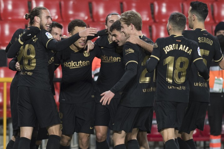 Liga Spanyol: Messi-Griezmann Bawa Barcelona Menang 4-0 Atas