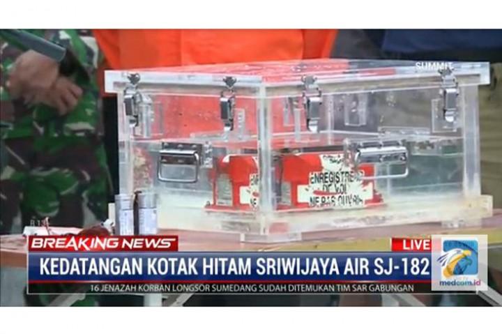 Kotak Hitam Sriwijaya Air SJ-182 Ditemukan