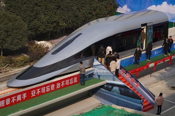 Hebat! Tiongkok Luncurkan Prototipe Kereta Maglev Berkecepatan