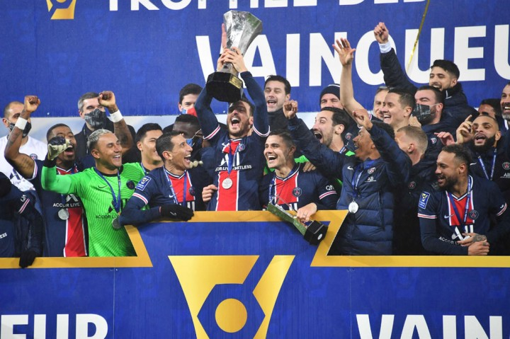 Tekuk Marseille 2-1, PSG Juarai Piala Super Prancis Delapan Kali
