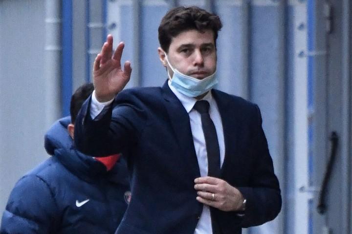 Pelatih PSG Mauricio Pochettino Positif Covid-19