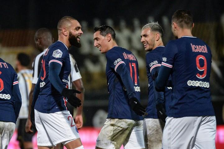Angers Vs PSG: Menang 1-0, Les Parisiens Naik ke Puncak Klasemen