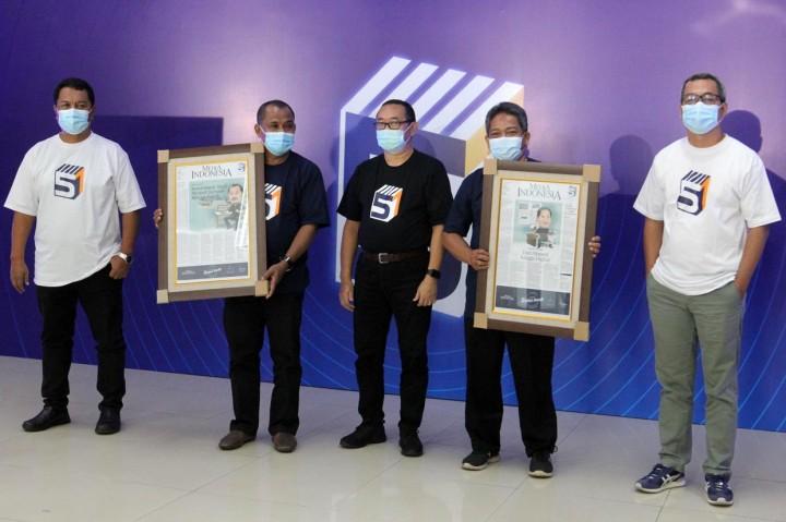 HUT ke-51, Media Indonesia Beri Penghargaan Bagi 10 Karyawan