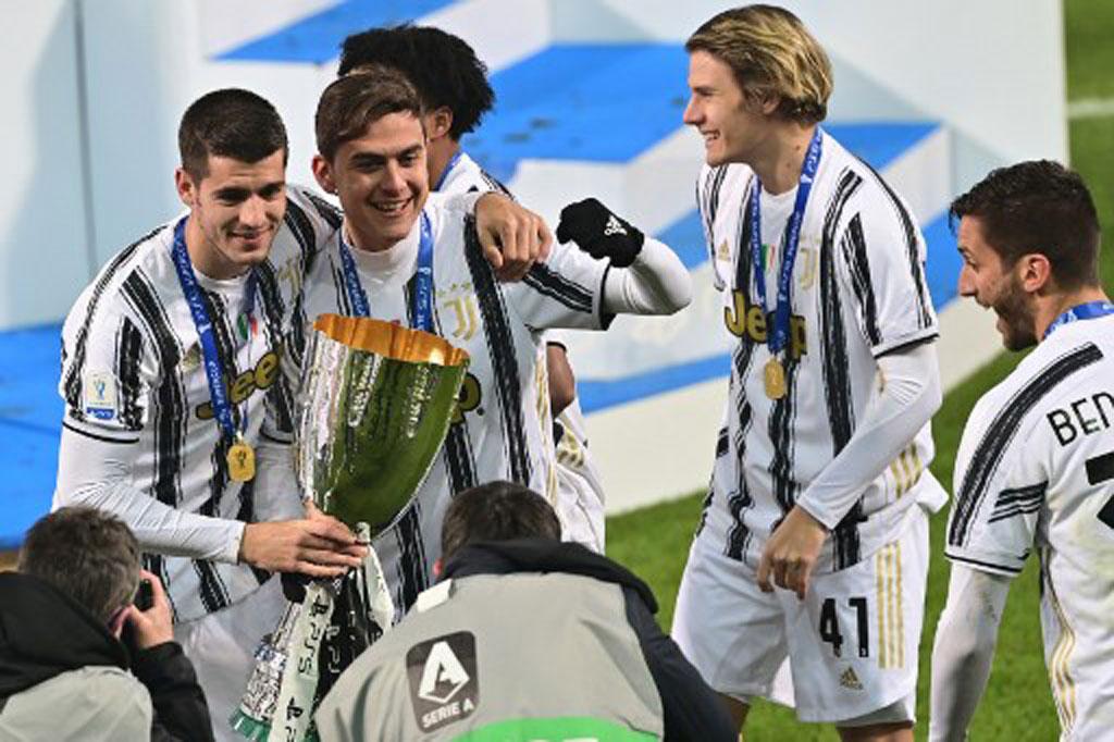 Taklukkan Napoli 2-0, Juventus Juara Piala Super Italia ...