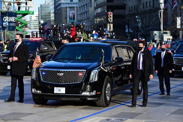 Mobil Kepresidenan Joe Biden Ternyata Bekas Donald Trump