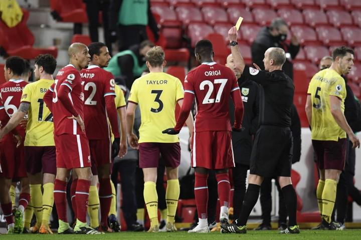 Liverpool vs Burnley: The Reds Akhirnya Tumbang di Anfield