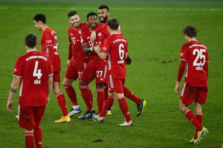 Shalke 04 Vs Bayern: Mueller Cetak Brace, Die Roten Menang 4-0