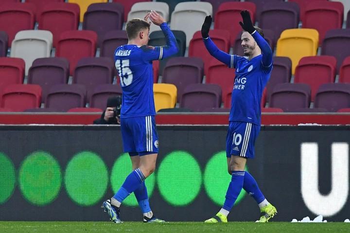 Tumbangkan Brentford, Leicester City Maju ke 16 Besar Piala FA