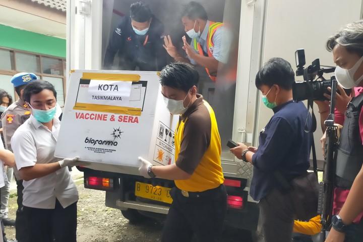 13.600 Dosis Vaksin Covid-19 Tiba di Tasikmalaya
