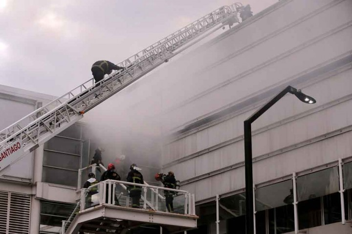 Kebakaran Landa RS di Chile