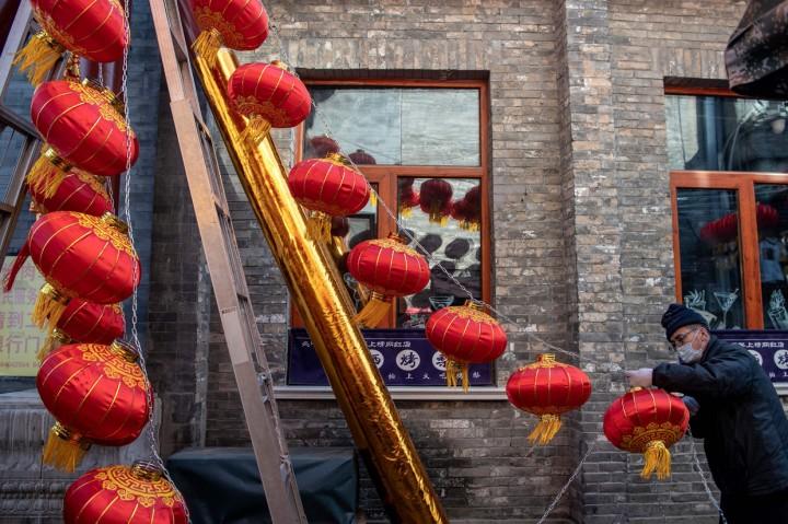 Melihat Persiapan Menyambut Tahun Baru Imlek di Beijing