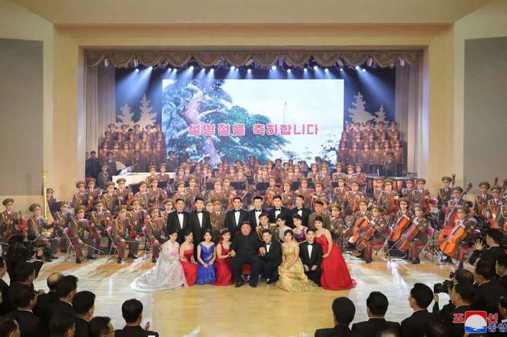 Suasana Perayaan Tahun Baru Imlek di Korea Utara
