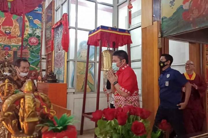 Gubernur Sumsel: Imlek Pererat Silaturahmi Masyarakat