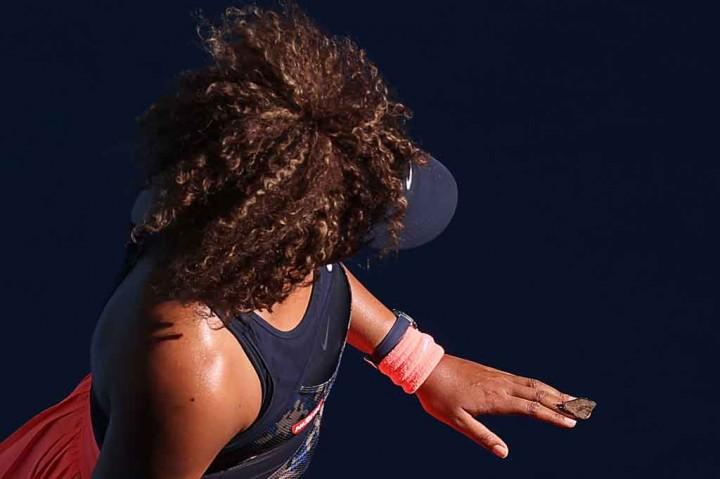 Saat Osaka 'Diganggu' Kupu-kupu di Laga Australia Open