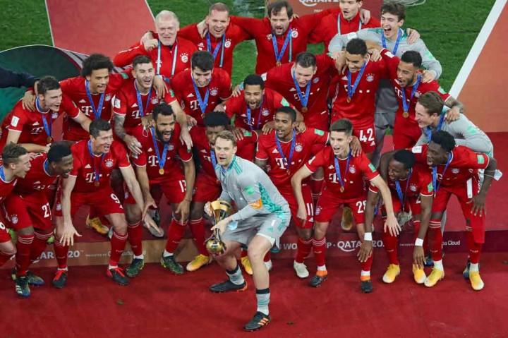 3 Foto Terpopuler: Bayern Muenchen Juara Piala Dunia Antarklub