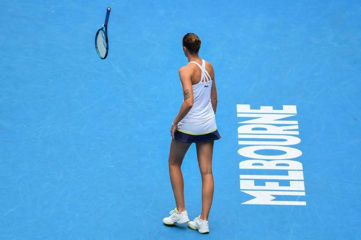 Pliskova di Australia Open: Bertanding, Hancurkan Raket,