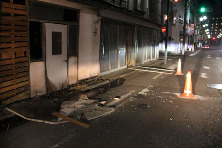 3 Foto Terpopuler: Gempa M 7,3 Guncang Fukushima hingga