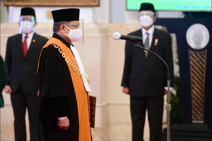 Andi Samsan Nganro Resmi Jadi Wakil Ketua MA Bidang Yudisial