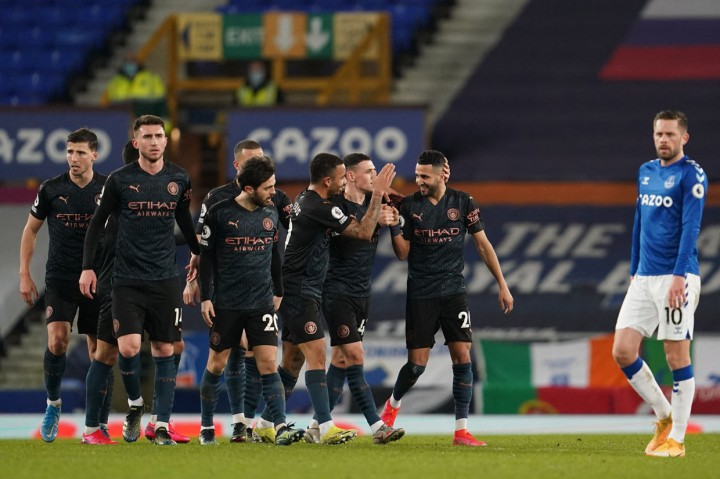 Everton Vs Man City: The CItizens Tekuk The Toffees 3-1