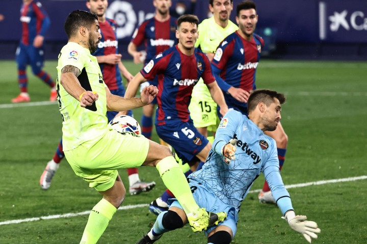 Liga Spanyol: Ditahan Imbang Levante, Atletico Madrid Masih