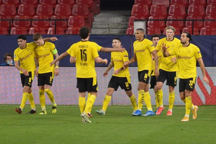 Liga Champions: Haaland Brace, Dortmund Taklukkan Sevilla 3-2