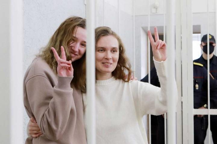 Duh! Liput Demonstrasi, Dua Jurnalis Belarusia Dipenjara Dua