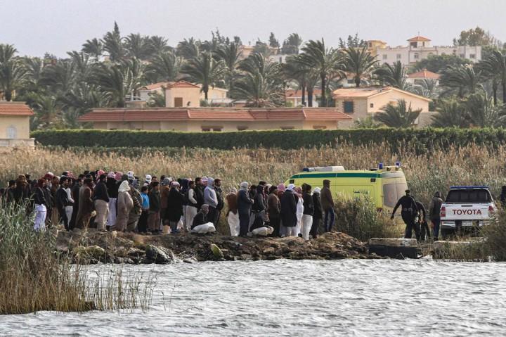 Perahu Tenggelam di Danau Alexandria, Sedikitnya 9 Orang